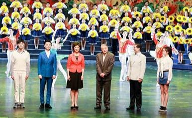我和祖國一起成長 東城文化志愿者首次登上國家大劇院舞臺