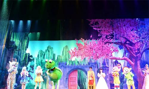 兒童劇《小魔仙與白雪公主》
